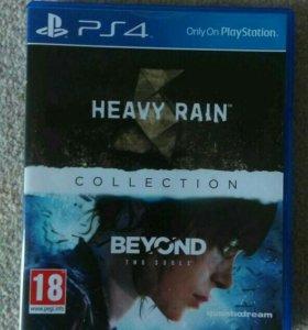 Heavy rain,Beyond two souls. PlayStation 4