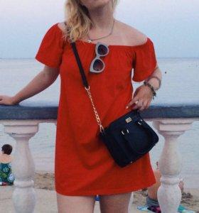 Платье летнее с открытыми плечами ASOS