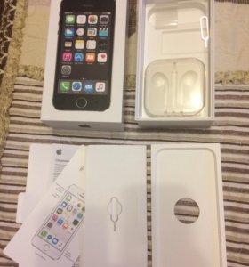 Коробка от iPhone5s