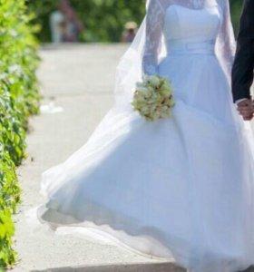 Свадебное платье А - силуэт
