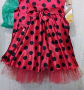 Платье детское в стиле стиляг/ Аренда