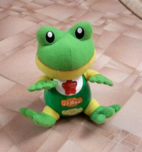 Поющая игрушка Лягушка
