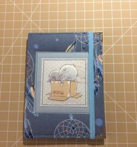 Тканевая обложка на паспорт