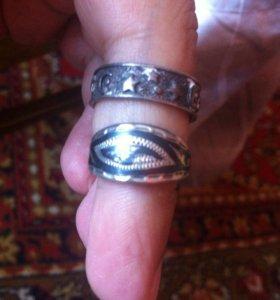Колечки серебро