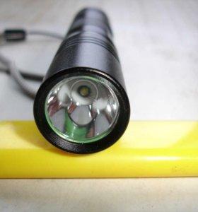 Светодиодный фонарь металлический.