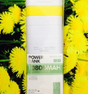 Новый Power Bank 10800 mAh V3/3 жёлтый