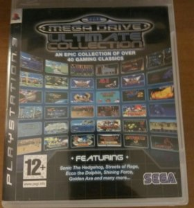 Ps 3 лицензия Sega mega drive ultimate collection