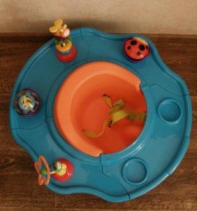Детский стульчик для кормления и игр