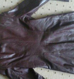 Кожанный пиджак 44-46
