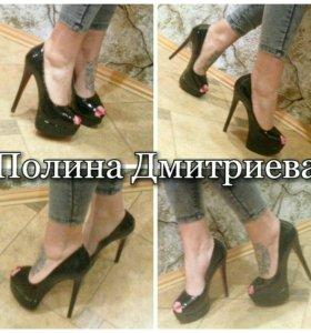 Туфли новые с 35-39