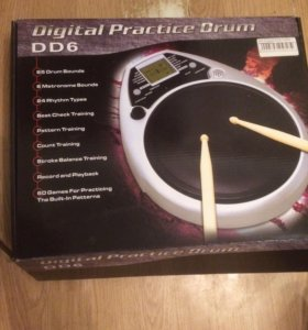 Электронный барабан DIGITAL PRACTICE DRUM DD6