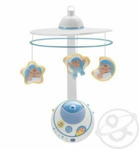 Мобиль для новорожденных chicco волшебные звезды