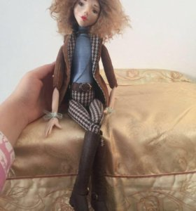 Кукла из пластика ручной работы