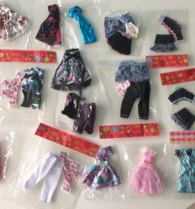 15 компл одежды для Monster High Ever After High