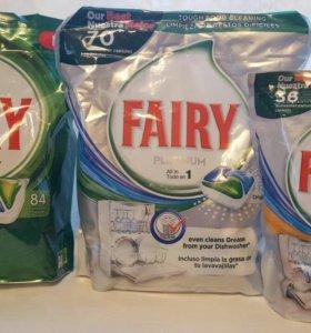 Fairy капсулы для посудомоечной машины.Финляндия