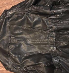 Куртка кожа натуральная кожанка