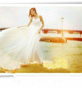 Платье сарафан в пол новое