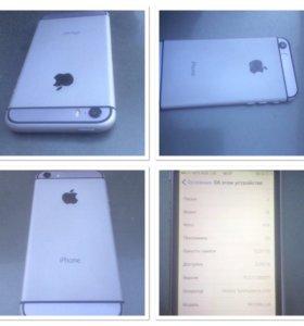 Продам iphone 5s в корпусе 6