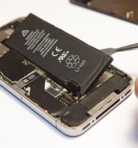 Аккумулятор для iPhone 4s с заменой