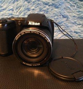 Фотоаппарат coolpix l340+карта памяти 32г+чехол