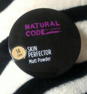 LUMENE Новая пудра Natural Code Skin Perfector