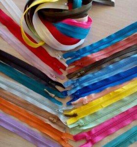Швейная фурнитура(молнии, резинка, липучка, ткани)