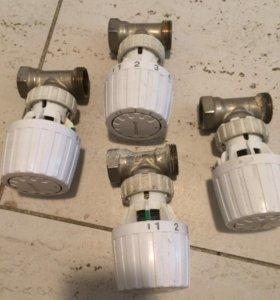 Радиаторный терморегулятор данфосс