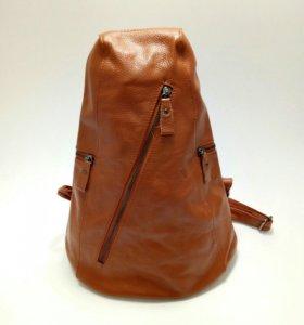 Рюкзак женский, натуральная кожа.
