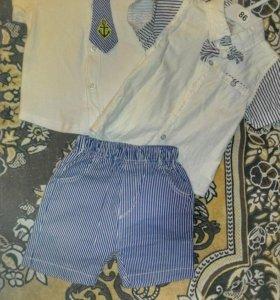 Детский костюм+рубашка