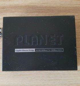 Медиаконвертер оптический Planet GT-805A
