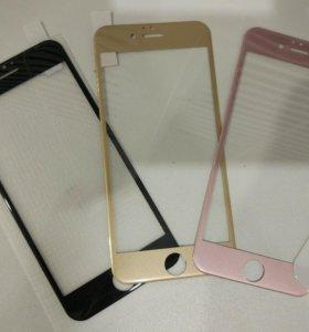 Защитные стекла 3d iphone 6/6Plus, 7/7Plus