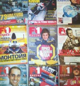 Коллекция журналов 60 штук формула 1 f1 racing