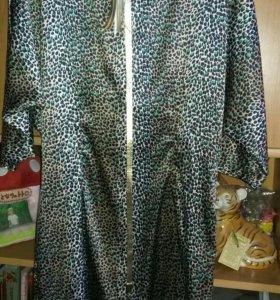 Платье шелковое. Размер 44