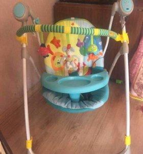 Электрокачеля 3 в 1 + дуга Taf toys в подарок