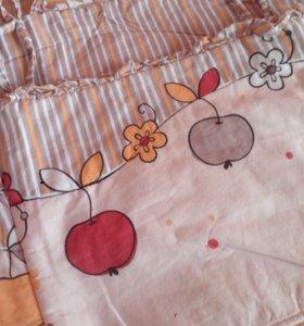 Комплект постельного белья для люльки-кроватки
