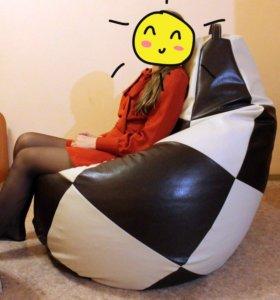 Новое кресло из экокожи