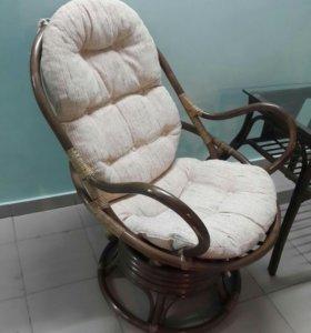 Кресло качалка (ротанг)