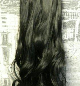 Искусственные волосы на заколки