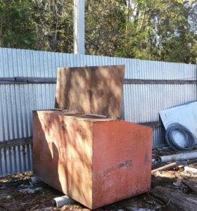 Металический контейнер