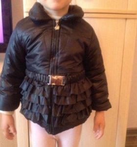 Детская модная оригинальная куртка