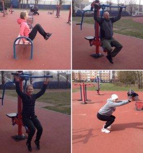 Персональные тренировки по фитнесу и болибилдингу
