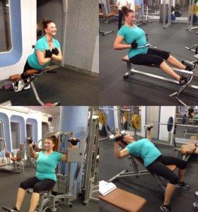 Тренировки по фитнесу и бодибилдингу