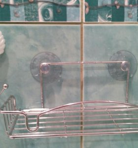 Полочка, крючок в ванную комнату