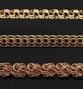 Изготовление цепей, золото, серебро