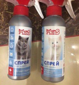 Спреи приучаем к лотку для котят