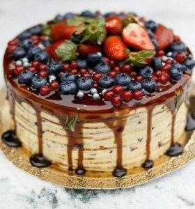 Торт медовик !!🍰🍰