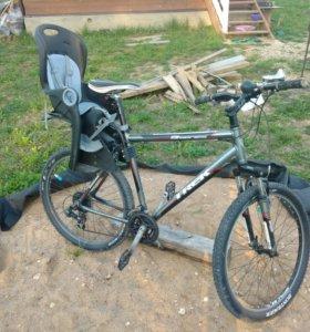 Кресло на велосипед