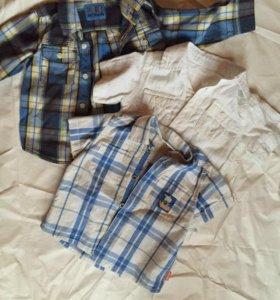 Рубашки 80-92