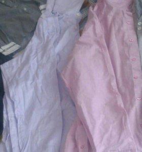 Рубашки 50-52 р.мужск.