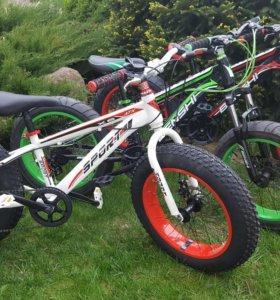 Велосипеды детские ФЭТБАЙКИ